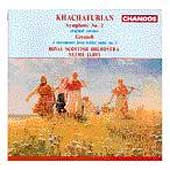 Khachaturian: Symphony no 2, etc / Jarvi, Royal Scottish