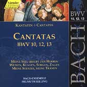 Edition Bachakademie Vol 4 - Cantatas BWV 10, 12-13 /Rilling