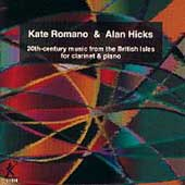 20th-Century Music from the British Isles / Romano, Hicks