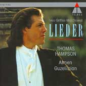 Ives, Griffes, MacDowell: Lieder / Thomas Hampson