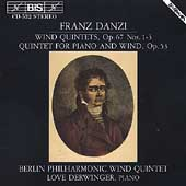 Danzi: Wind Quintets Vol 1 / Berlin Philharmonic Wind Qnt