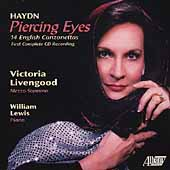 Piercing Eyes - Haydn: 14 English Canzonettas / Livengood