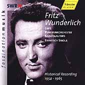 Fritz Wunderlich - Historical Recordings 1954-1965 / Smola