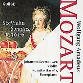 Mozart: Sonatas for Violin and Piano K 301-306