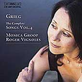 Grieg: Complete Songs Vol 4 / Monica Groop, Roger Vignoles