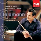 Telemann: Flute Concertos / Emmanuel Pahud, et al