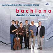 Bachiana - Double Concertos / Goebel, Music Antiqua Köln