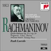 Rachmaninov: Complete Solo Piano Music Vol 5 / Ruth Laredo