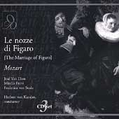 Mozart: Le nozze di Figaro / Karajan, Van Dam, Freni, et al