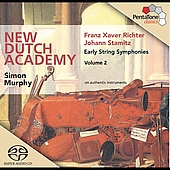 J. Stamitz, F.X. Richter: Early String Symphonies Vol 2