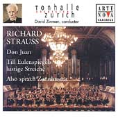 R. Strauss: Also Sprach Zarathustra, Don Juan, etc / Zinman