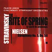Stravinsky: The Rite of Spring;  Nielsen: Symphony 5 / J&#228;rvi