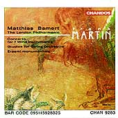 Martin: Concerto for 7 Winds, etc / Bamert, London PO