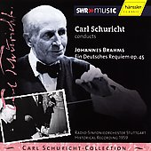 Carl Schuricht-Collection - Brahms: German Requiem