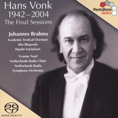Hans Vonk - The Final Sessions