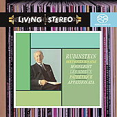 Beethoven: Piano Sonatas no 8, 14, 23, 26 / Rubinstein