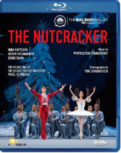 Tchaikovsky: The Nutcracker / Klinichev, Kaptsova, Ovcharenko [Blu-Ray]