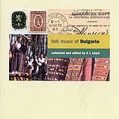 Various Artists: Folk Music of Bulgaria