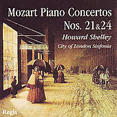 Mozart: Piano Concertos no 21 & 24 / Howard Shelley, et al