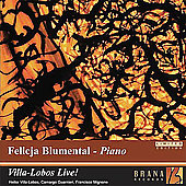 Villa-Lobos Live! - Piano Concerto no 5, etc / Blumental