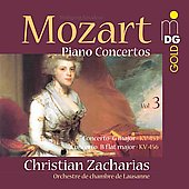 Mozart: Concertos for Piano & Orchestra Vol 3 / Zacharias
