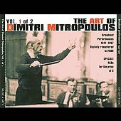The Art of Dimitri Mitropoulos Vol. 1 - Berg, Beethoven, Vaughan Williams, et al