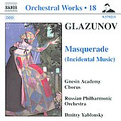 Glazunov: Orchestral Works Vol 18 / Yablonsky, Russian PO, et al