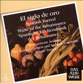 El Siglo De Oro: Spanish Sacred Music fo the Renaissance