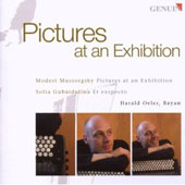 Mussorgskty: Pictures At An Exhibition; Gubaidulina: Et Exspecto / Harald Oeler, Bayan