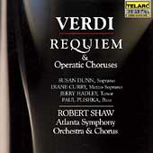 Classics - Verdi: Requiem & Choruses / Shaw, Atlanta