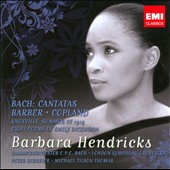 Bach: Cantatas; Barber; Copland / Schreier, Hendricks