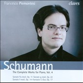 Robert Schumann: Complete Works for Piano, Vol. 4