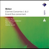 Weber: Clarinet Concertos 1 & 2 / Sharon Kam