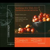 Clementi/Mozart: Sinfonie KV. 550, 551 Transcribed for Piano, Cello, Viola and Flute