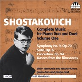 Shostakovich: Complete Music for Piano Duo and Duet, Vol. 1 / Vicky Yannoula, Jakob Fichert