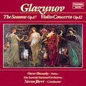 Glazunov: The Seasons, Violin Concerto / Shumsky, Järvi