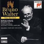 Bruno Walter Edition - Brahms: Symphony no 1, etc