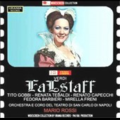 Verdi: Falstaff / Tito Gobbi, Renato Capecchi, Renata Tebaldi, Fedora Barbieri, Mirella Freni - Mario Rossi