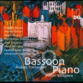 Works for Bassoon & Piano by Bozza, Boutry, Francaix, Saint-Saens, Tansman et al. / Rodion Tolmachev, bassoon; Midori Kitagawa, piano