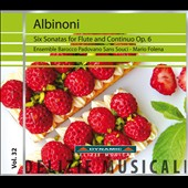 Albinoni: 6 Sonatas for Flute & Continuo, Op. 6 / Mario Folena
