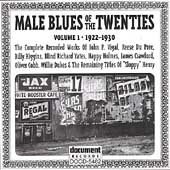 Various Artists: Male Blues of the Twenties