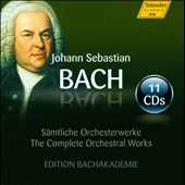 Bach: The Complete Orchestral Works / Edition Bachakademie [11 CDs]