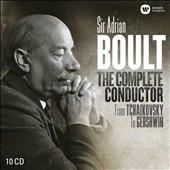 Sir Adrian Boult: The Complete Conductor - Works by Holst, Parry, Walton; Glinka, Tchaikovsky et al. [10 CDs]