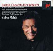 Bartok: Concerto for Orchestra, etc / Mehta, Berlin Phil