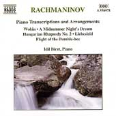 Rachmaninov: Piano Transcriptions and Arrangements / Biret