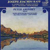 Raff: Piano Concerto, etc / Aronsky, Bamert, Basel RSO