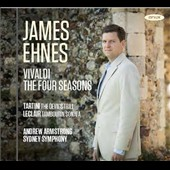 Vivaldi: The Four Seasons; Tartini: 'The Devil's Trill; Leclair: 'Tambourin' Sonata / James Ehnes, violin; Sydney SO; Armstrong