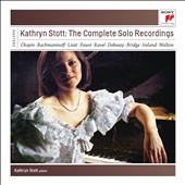 Kathryn Stott: The Complete Solo Recordings - Music of Chopin, Rachmaninov, Liszt, Fauré, Ravel, Debussy, Bridge, Ireland, Walton et al. / Kathryn Stott, piano [9 CDs]
