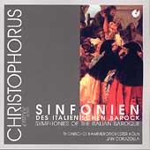 Symphonies of the Italian Baroque / Jan Corazolla, Rhein CO