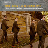 Mendelssohn: String Quartets Nos. 5 & 6 / The Escher String Quartet